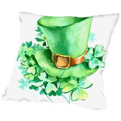 St Patrick 2 Throw Pillow