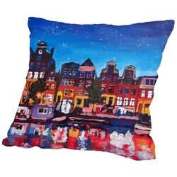 Amsterdam Stars 2 Throw Pillow