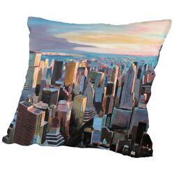 NYC Sunlight 2 Throw Pillow