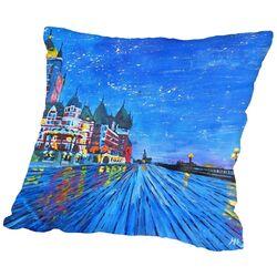 Quebec Frontenac 2 Throw Pillow