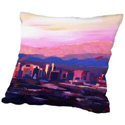 Phoenix Arizona Skyline 2 Throw Pillow