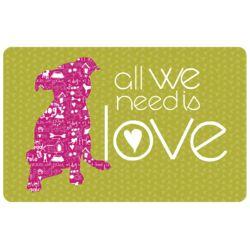 All We Need Is Love Doormat