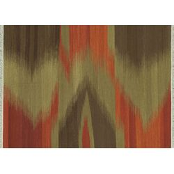 Santana Red / Brown Area Rug