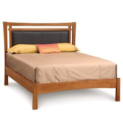 Monterey Upholstered Fabric Panel Bed