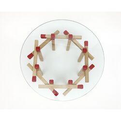Octagonal Matchstick Table