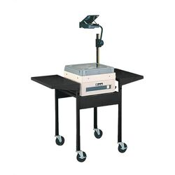 Adjustable Height Cart with Overhead
