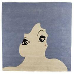 Glamour Girl Novelty Rug