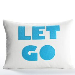 Let Go Decorative Pillow