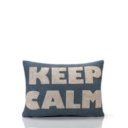 Good Advice Keep Calm Decorative Pillow