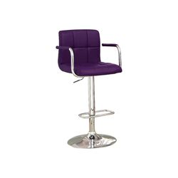 Goldmember Adjustable Height Swivel Bar Stool
