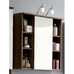 Posseik Maxine 71 x 68cm Bathroom Cabinet in Walnut