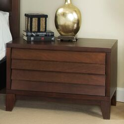Island 2 Drawer Nightstand