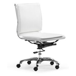 Lider Plus Low Back Armless Office Chair