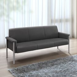Baton Leatherette Sofa