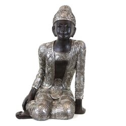 Marvelous Resin Sitting Buddha Statue