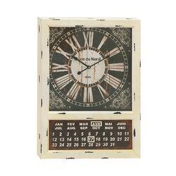 woodland imports metal oversized 24 quot wall clock reviews wayfair