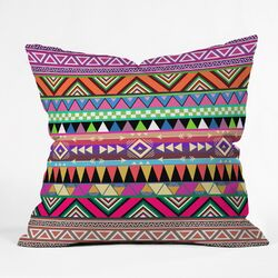 Bianca Green Overdose Indoor/Outdoor Polyester Throw Pillow