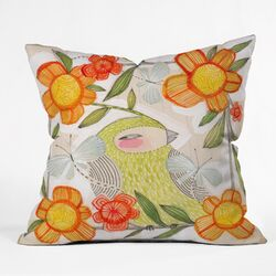 Cori Dantini Fine Comanions Throw Pillow