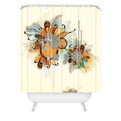 Iveta Abolina Polyester Sunset Shower Curtain