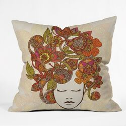 Valentina Ramos Its All in Your Head Polyester Throw Pillow