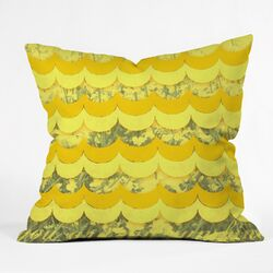 Gabi Sunshine Outdoor Throw Pillow