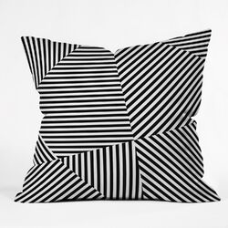 Three Of The Possessed Dazzle New York Throw Pillow