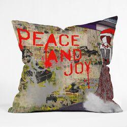 Amy Smith Urban Holiday Throw Pillow