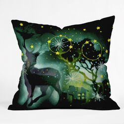 Randi Antonsen Nordic Light Throw Pillow