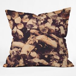 The Light Fantastic Kindling Throw Pillow