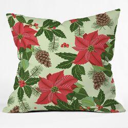Sabine Reinhart Christmas Ballad Throw Pillow