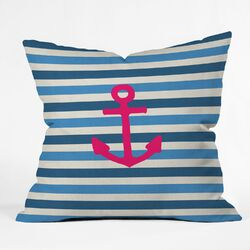 Bianca Green Stay 1 Throw Pillow