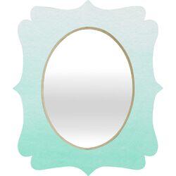 Social Proper Mint Ombre Wall Mirror