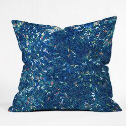Social Proper Tinsel Ii Throw Pillow