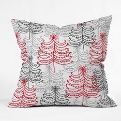 Rachael Taylor Doodle Trees Throw Pillow