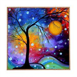 Winter Sparkle by Madart Inc. Framed Wall Art
