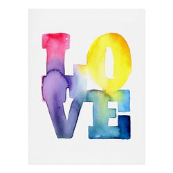 Love 4 by CMYKaren Painting Print
