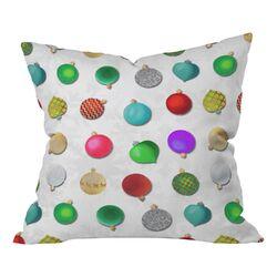 Madart Inc Multi Ornaments Decorative Pillow