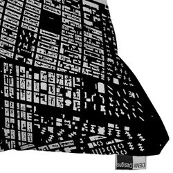 CityFabric Inc Polyester NYC Indoor/Outdoor Throw Pillow