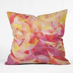 Jacqueline Maldonado Polyester Concentric Indoor/Outdoor Throw Pillow