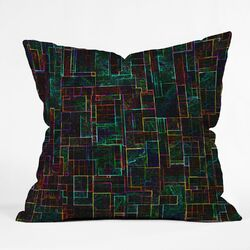 Jacqueline Maldonado Polyester Matrix Indoor/Outdoor Throw Pillow