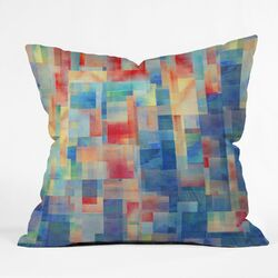 Jacqueline Maldonado Polyester Torrentremix Indoor/Outdoor Throw Pillow