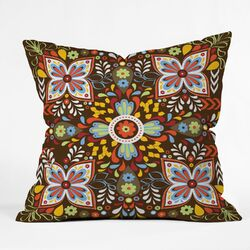 Khristian A Howell Polyester Wanderlust Indoor/Outdoor Throw Pillow