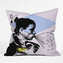 Randi Antonsen Poster Hero 1 Woven Polyester Throw Pillow