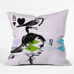 Randi Antonsen Poster Hero 2 Woven Polyester Throw Pillow