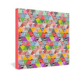 Bianca Green Lost In Pyramid Gallery Wrapped Canvas