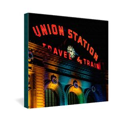 Union Station by Bird Wanna Whistle Photographic Print on Canvas