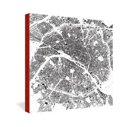 Paris by CityFabric Inc Graphic Art on Canvas