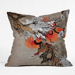 Iveta Abolina Polyester Sonnet Indoor/Outdoor Throw Pillow