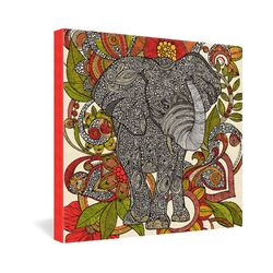 Bo The Elephant by Valentina Ramos Graphic Art on Canvas