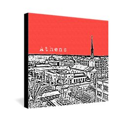 Athens by Bird Ave. Graphic Art on Canvas
